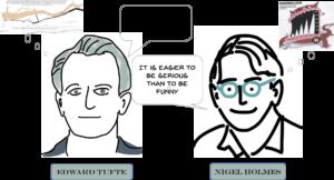 Edward Tufte en Nigel Holmes